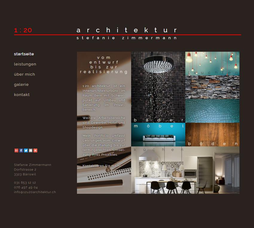 Portfolio webdesign burgdorf cms websites for Portfolio architektur